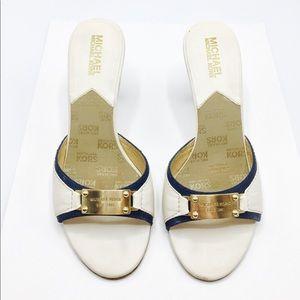 MICHAEL Michael Kors Classic Slide Sandal Heels